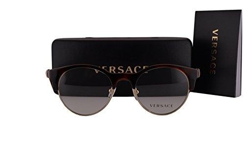 Versace VE3233B Eyeglasses 49-20-140 Havana Gold w/Demo Clear Lens 5217 VE - Sunglasses 90s Versace