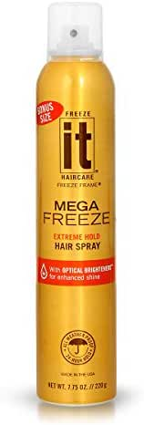 Hair Spray: Freeze It Mega Hair Spray