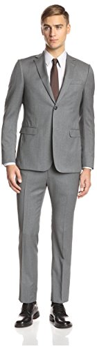 Z Zegna Men's Drop 8 Notch Lapel Suit, Grey, 50 EU for sale  Delivered anywhere in USA