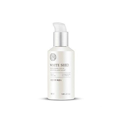 The Face Shop Anti Aging Serum Facial Moisturizer, Advanced Brightening and Skin Repair with Natural White Seed Extract - 1.69 Oz 50 mL from THEFACESHOP