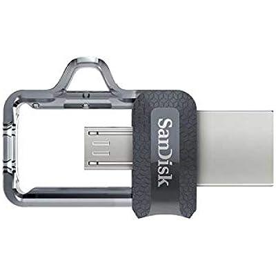 Memoria flash USB SanDisk Ultra Dual m3.0 de 32 GB con USB 3.0 y hasta 150 MB/s