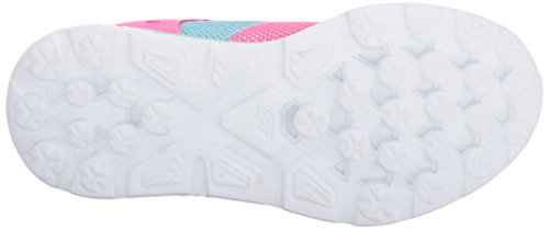 Pictures of Skechers Kids Girls' GO Run 400-Sparkle 81358L Neon Pink/Aqua 7