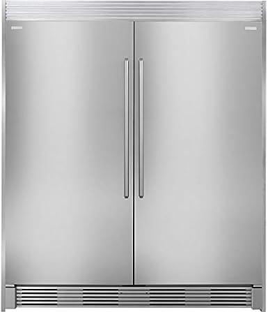 Electrolux EI32AR80QS & congelador EI32AF80QS refrigerador lateral ...