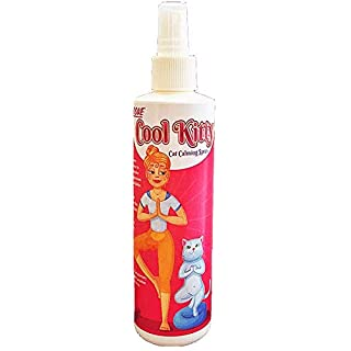 Pet MasterMind Fab Fur Kitty Detangling Conditioning Spray 8 Oz - Best Cat Spray for Grooming and Dematting. Premium Natural Ingredients - Unscented as Kitty Prefers!