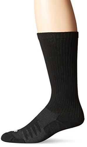 New Balance Unisex 1 Pack Wellness Casual Walker Socks Black