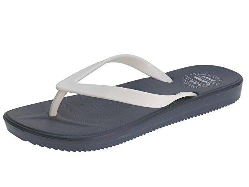 BEPPI Señoras de Las Chancletas de Zapatillas Zapatillas Zapatillas de Verano Azul marino/blanco