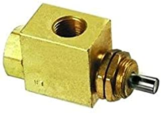 "product image for Clippard MJV-3 3-Way Valve, Normally-Closed, 1/8"" NPT"