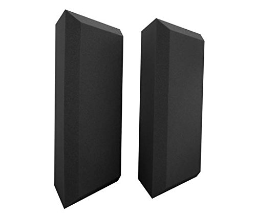 (Ultimate Acoustics UA-BTB Professional Acoustic Bass Traps with Bevel Design -)