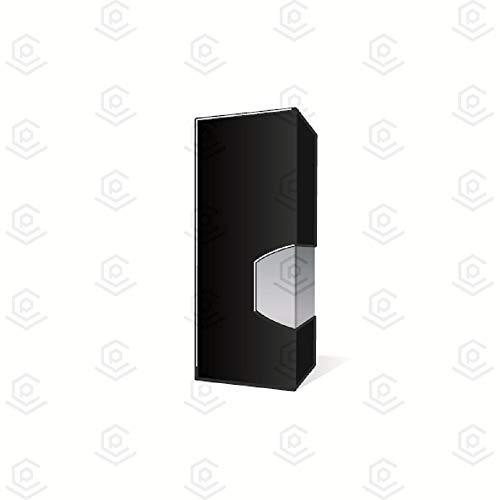 Oji Vape Cartridge Empty Boxes Blank 1.0G | Black 100 Pieces - 77mm Tall
