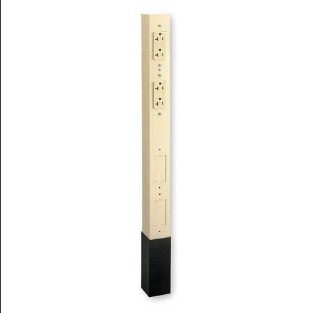 Alum Srvice Pole,Ivory,12 ft. 2