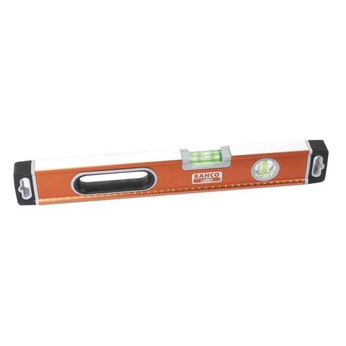 Bahco 466-400 Caja de 400mm Nivel-BAH466400, Naranja, 400 mm L