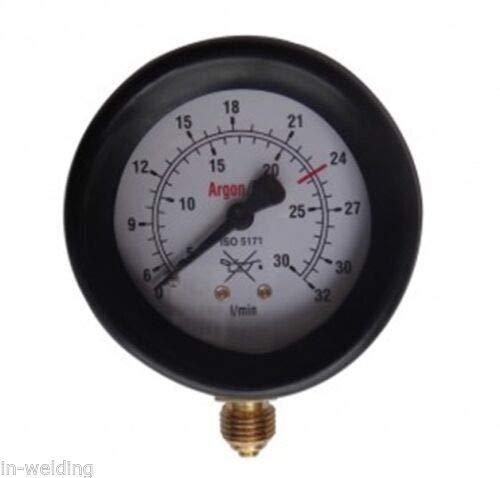 Manometer für Druckminderer Argon ArR-78 bis 32l/min