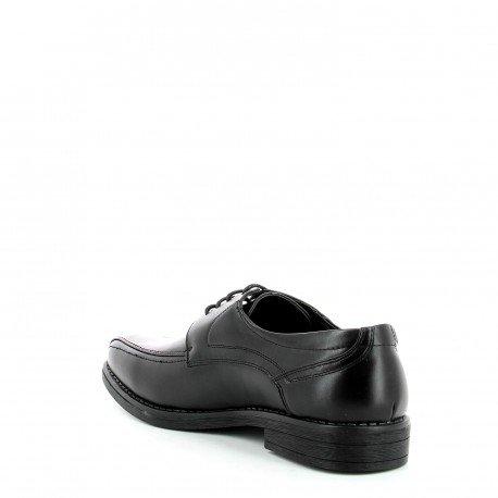 Pomme passion - Chaussures de ville hommes en similicuir Ruben - Femme Noir 40