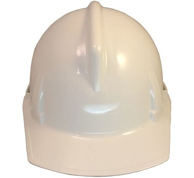 Topgard Protective Caps (MSA Topgard Protective Cap Style Hard Hat With Fas-Trac III Suspension - White)