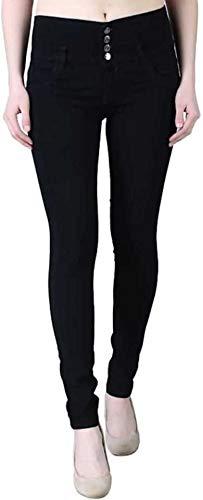 Darsh Garments Slim Women Black Jeans 4B