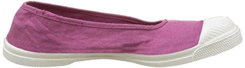 Bensimon Tennis Ballerine Femme - Botas Mujer Violet (Rouge Hortensia)