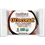 Nutiva O'Coconut Lightly Sweetened Treat - Hemp and Chia - 0.5 oz
