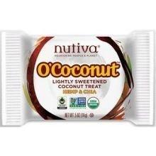 Nutiva O'Coconut Lightly Sweetened Treat - Hemp and Chia - 0.5 oz