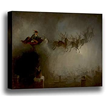 Santa Claus  by William Holbrook Beard  Giclee Canvas Print Repro