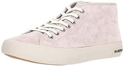 SeaVees Women's CA Special Sneaker, Ecru, 5 M US