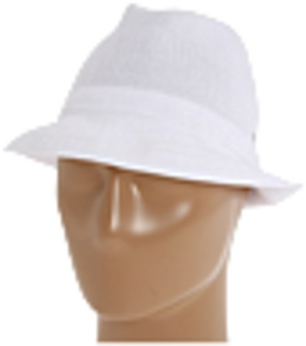 (Kangol Men's Tropic Player-6371Bc, White, LG (7 1/4-7)