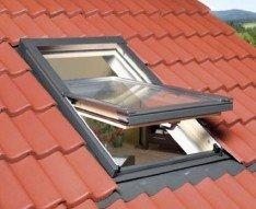 Dachfenster preise  Kronmat Optilight Dachfenster mit Eindeckrahmen 78x118 Fakro ...