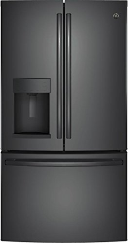 Ge Black Side By Side Refrigerator - 4