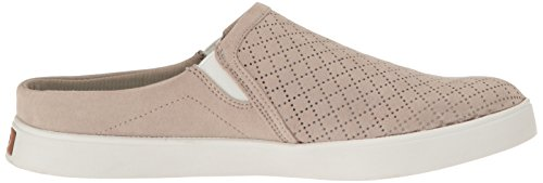 Perforated Dr Taupe Fashion Microfiber Scholls Sneaker Mule Womens Madi RHwTx8q4Hr