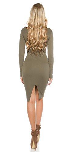 In-Stylefashion - Vestido - para mujer marrón claro