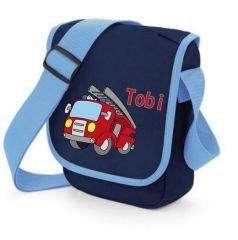 """Kindergartentasche /""""Feuerwehrauto/"""" mit Namen"""