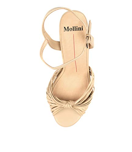 Heels Sandals Shoes MANNIEST Leather MOLLINI Skin High Womens fwIF4q7