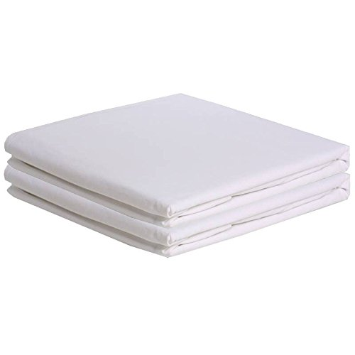 Set of 2 White Bassinet Sheets Size: 17x31
