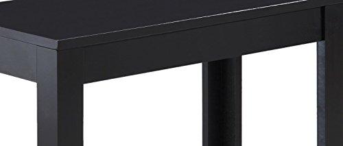 Crown Mark Pierce Side Table, Black