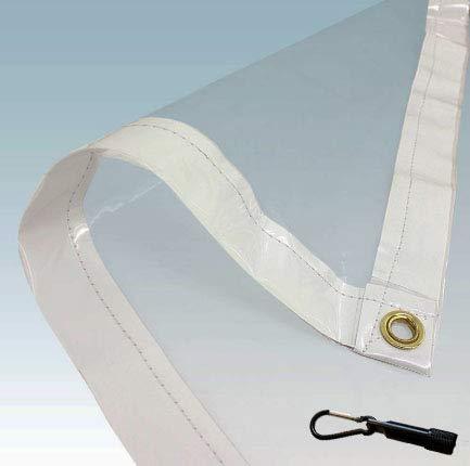 PVC Clear Tarp (8X12)