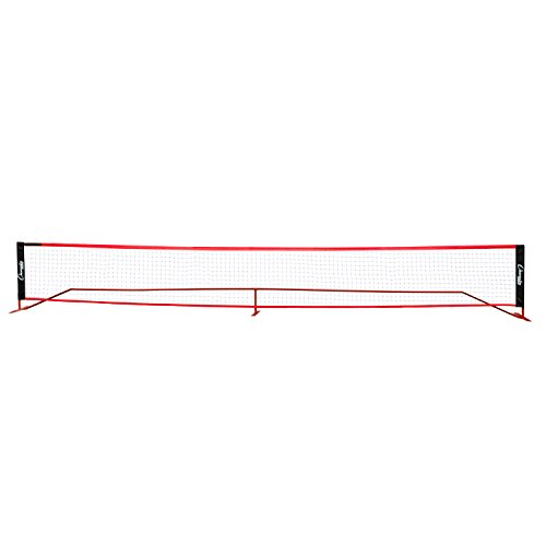 Champion Sports Portable Volleyball Net: 20 Foot Outdoor Beach Volleyball Badminton & Tennis Court Nets (Tennis Merchandise)