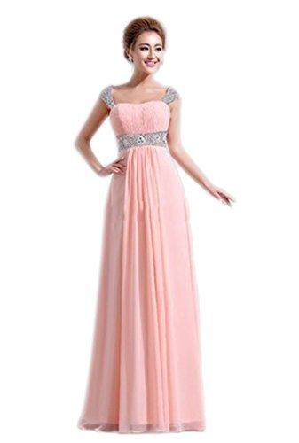 Ikerenwedding - Vestido - Vaina - para mujer Rosa