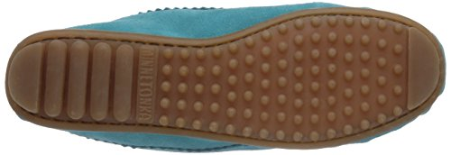 to We 403J Moccasins Turquoise Minnetonka Me Suede Women's Fq4v1v