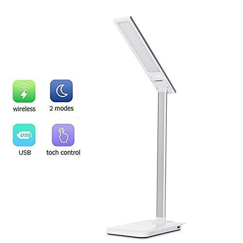 1PCS moderna 2 en 1 escritorio del LED de la lámpara ...