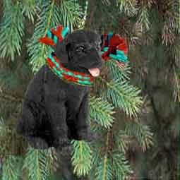Labrador Retriever Miniature Dog Ornament - Black