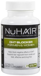 Nu Hair NuHair DHT Blocker Tabs, 60 ct (Quantity of 1) by Tayongpo