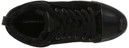Robina Baskets black Calvin Klein Noir Velvet Femme qzxxpSwf5