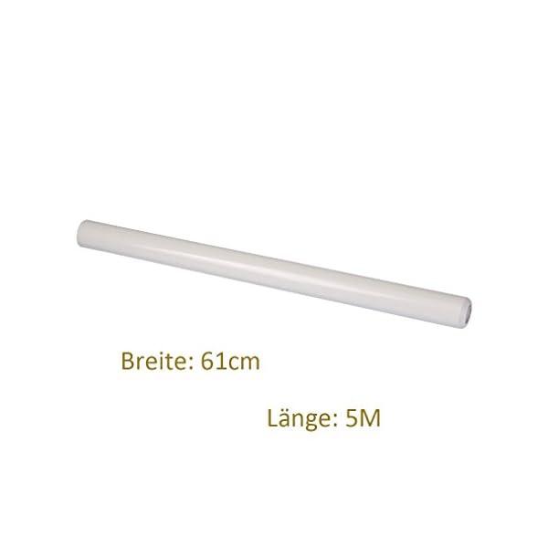 5M*61CM bianco Pellicola adesiva Pellicola autoadesiva decorativa per mobili 4 spesavip