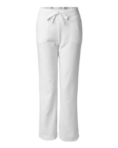 - Buy Cool Shirts Heavy Blend Women's Open Bottom Sweatpants with Pockets White Sm