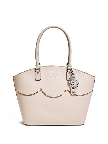 GUESS Factory Women's Saffiano Scalloped Carryall