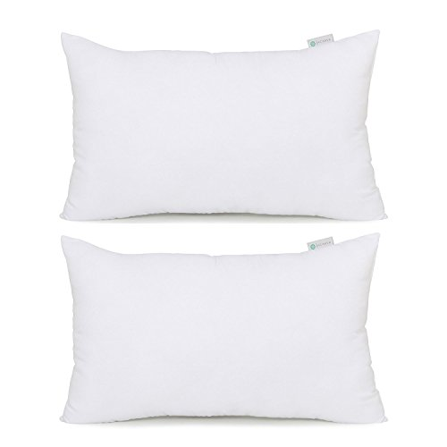 Acanva Hypoallergenic Soft Bed Pillows For Sleeping, King, 2