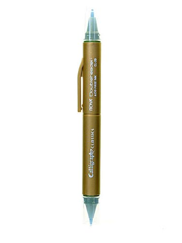 Itoya Doubleheader Calligraphy Marker evergreen [PACK OF 12 ]