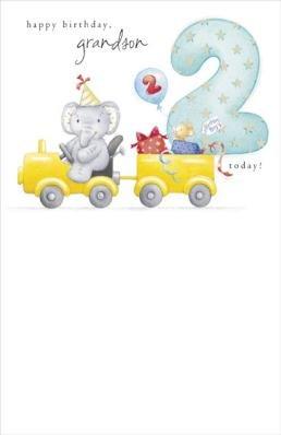 Happy 2nd birthday grandson elliot buttons birthday greetings happy 2nd birthday grandson elliot buttons birthday greetings card m4hsunfo Image collections