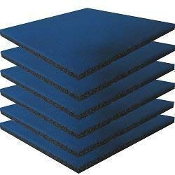 Fall Estera de protección conjunto azul de 6