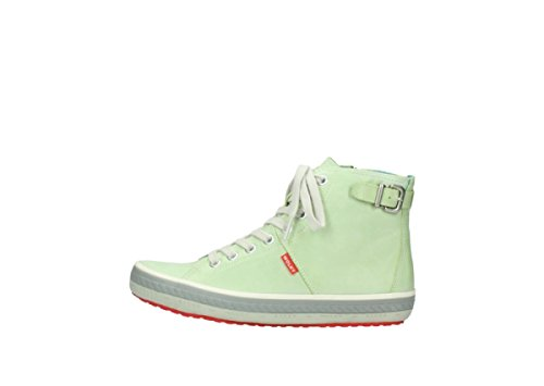 Lime Womens 1225 Leather Biker Wolky 375 Trainers RYqxgv7nO
