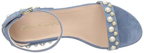 Stuart Weitzman Des Femmes De Allpearls Plates Jeans Sandale